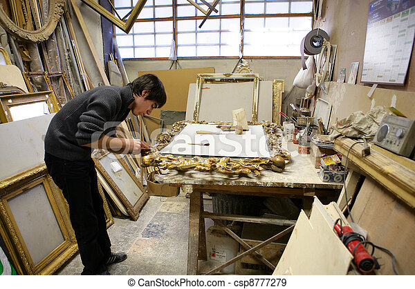 A workshop - csp8777279