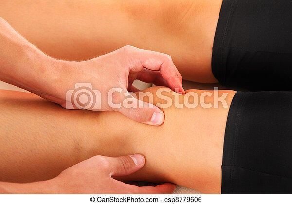 Knee therapy - csp8779606