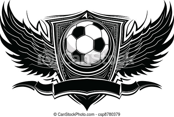Soccer Ball Ornate Graphic Vector  - csp8780379