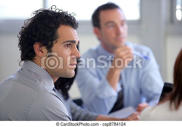 Attentive business group - csp8784124