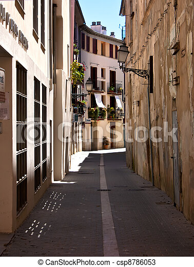 Palma de Mallorca old city  - csp8786053