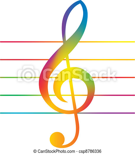 Treble clef Stock Illustrations. 8,863 Treble clef clip art images ...