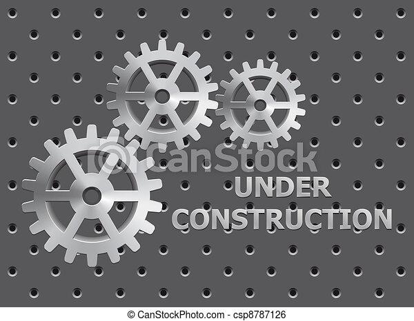 Under Construction - csp8787126