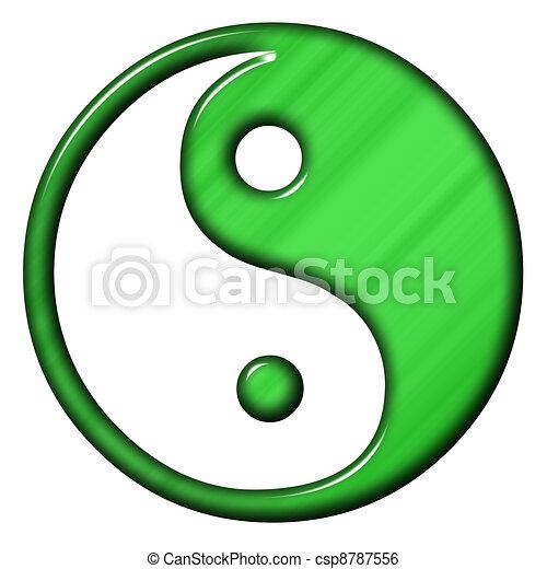 Stock Illustration von ying yang  jing jang symbol von