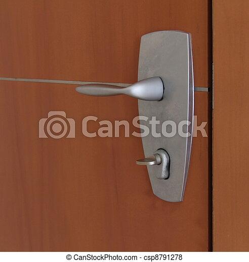 The doorknob - csp8791278