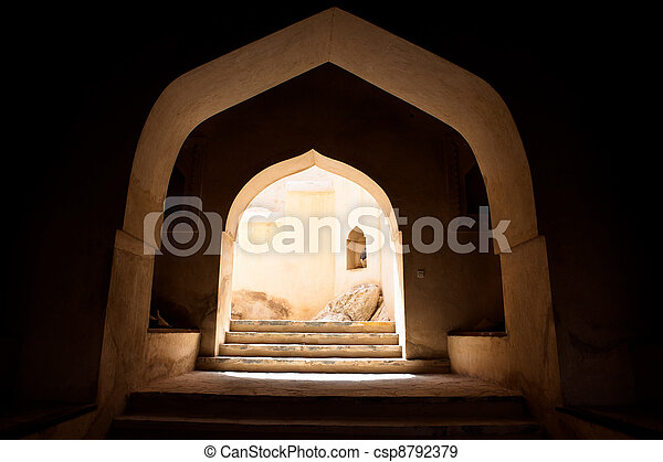 The Nakhl Fort in Al Batinah, Oman - csp8792379