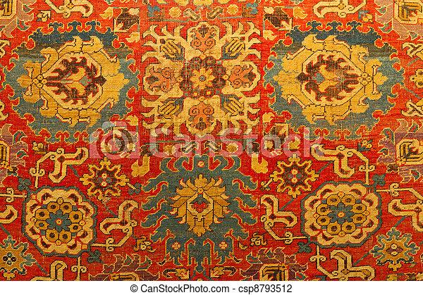 Traditional Turkish Carpet - csp8793512