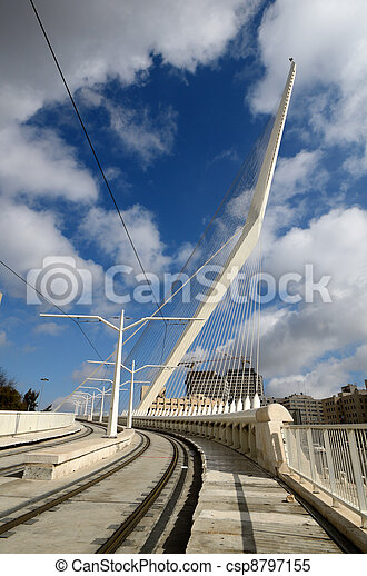 Jerusalem Chords Bridge - csp8797155