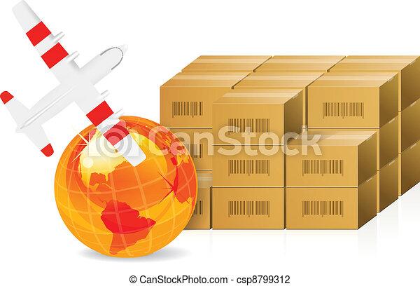 Cardboard packages  - csp8799312
