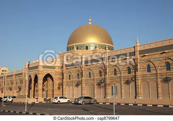 Museum of Islamic Civilization in Sharjah, United Arab Emirates - csp8799647