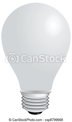 Light bulb - csp8799668