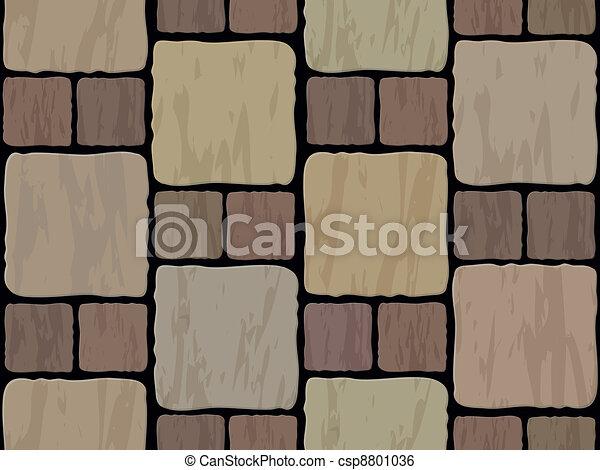 stone tile seamless background - csp8801036
