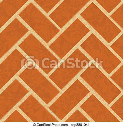 brickwork floor, wall seamless background - csp8801041