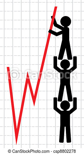 Symbolical image of lifting - csp8802278