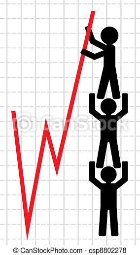 Symbolical image of lifting  - csp8802278
