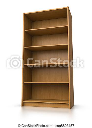 Empty shelf - csp8803457