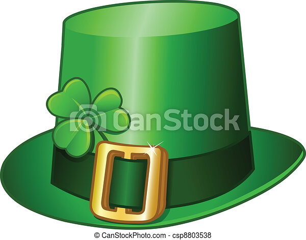 St Patricks hat - csp8803538