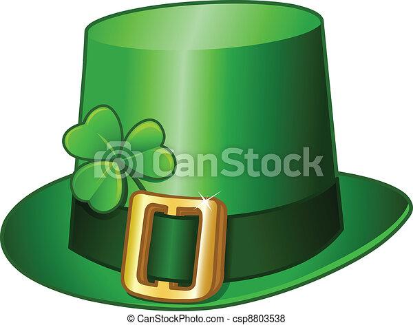 St Patricks hat - csp8803538