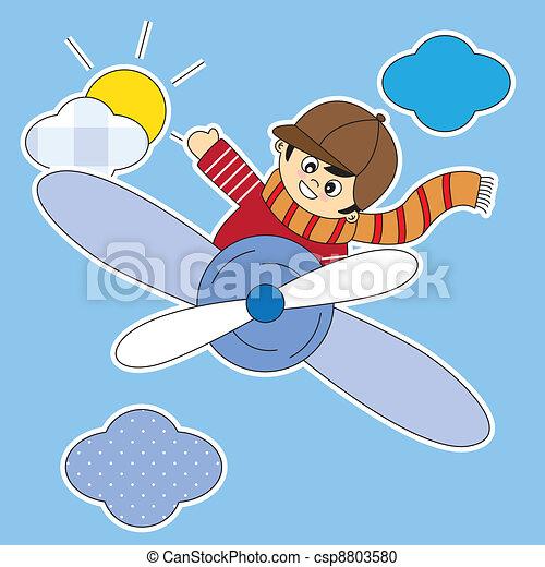 Clip arte vetorial de crian a voando avi o sala menino for Sala de estar 3x5