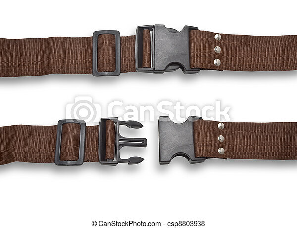 belt fastened and rastegnut - csp8803938