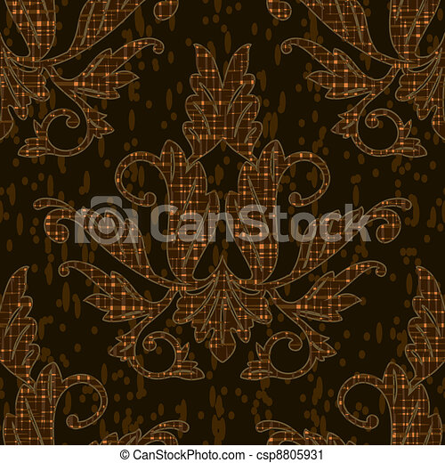 old style seamless background - csp8805931