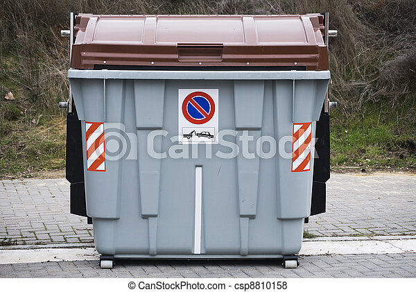 Pictures of Big trash dumpster csp8810158 - Search Stock Photos ...