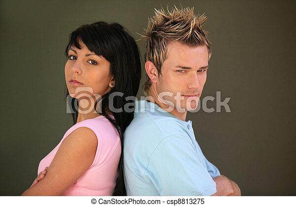 Couple having an argument - csp8813275