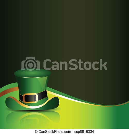 saint patricks day illustration - csp8816334