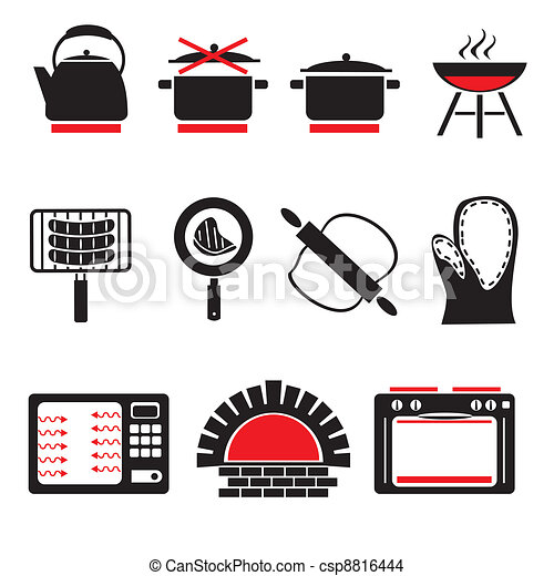 cooking icons - csp8816444