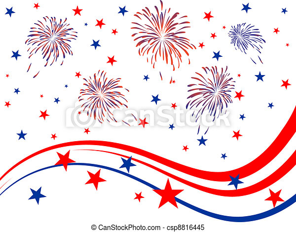 4th july - Independence day - csp8816445
