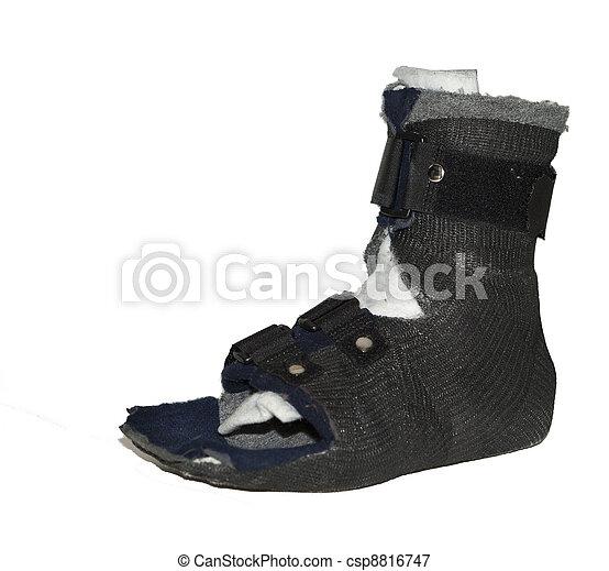 Black footcast