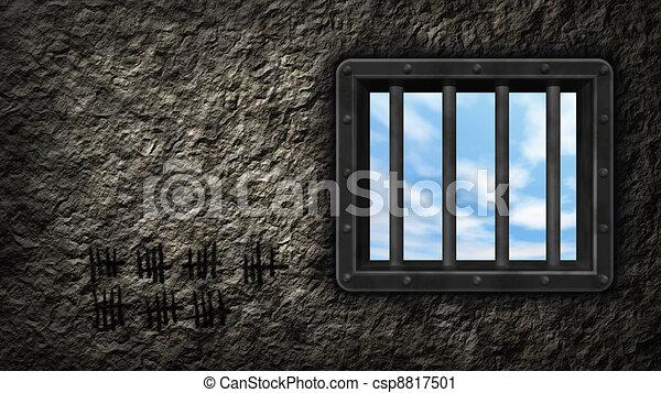 prison window - csp8817501