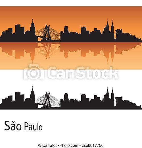 Sao Paulo skyline - csp8817756
