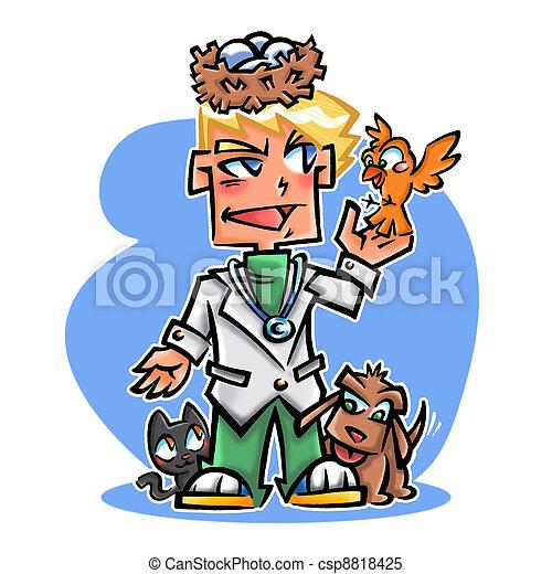 veterinary - csp8818425
