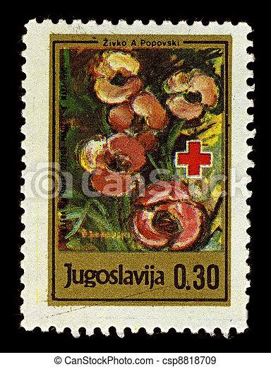 Postage stamp. - csp8818709
