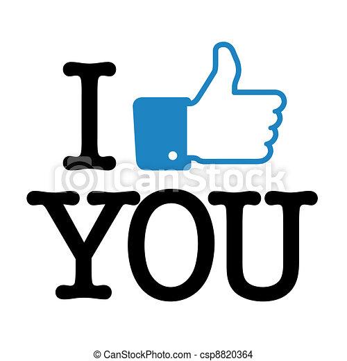 I like you - csp8820364