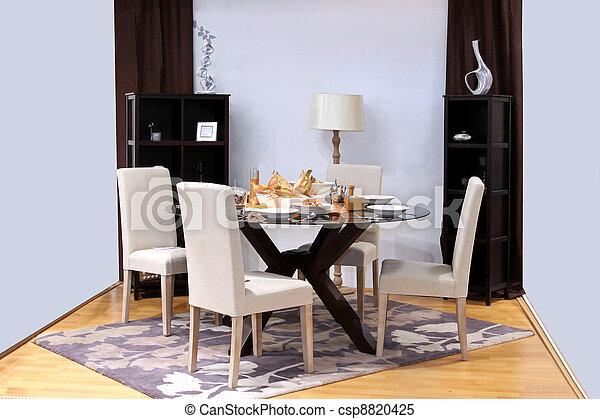 Festive dinning - csp8820425