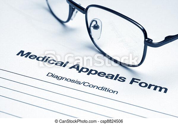 Medical appeals form - csp8824506