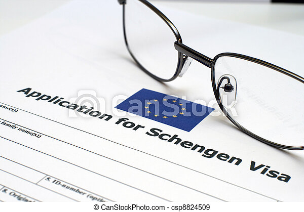 Application for Schengen visa - csp8824509