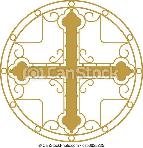 Christian Holy cross  - csp8825225