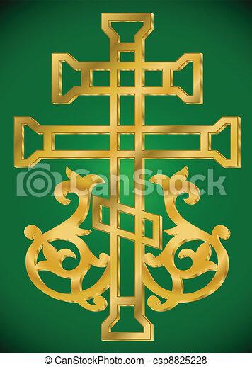 Christian Holy cross - csp8825228
