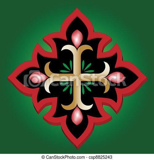 Christian Holy cross  - csp8825243