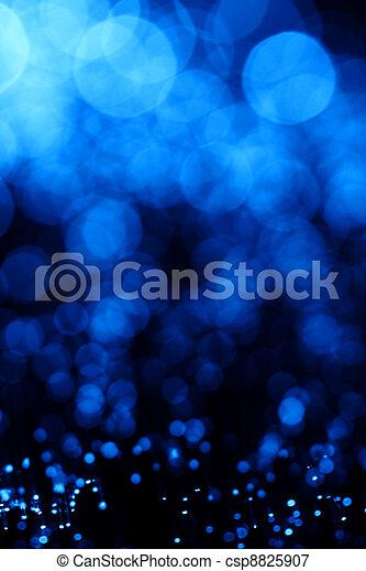 blaues, Abstrakt, Faser, Optisch - csp8825907