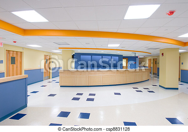 Reception desk - csp8831128