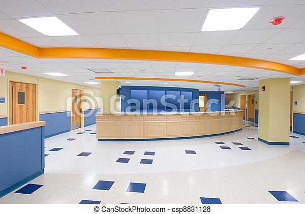 Reception desk - csp8831128