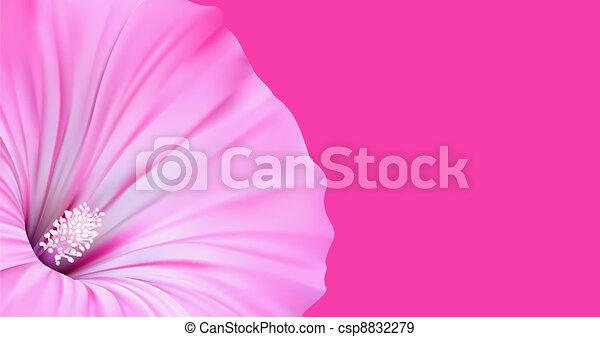Flower Background Artistic Design - csp8832279