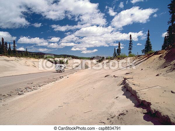 Newfoundland - Labrador Highway - csp8834791
