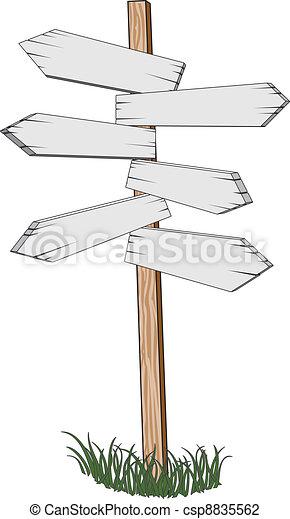 Sign Post - csp8835562