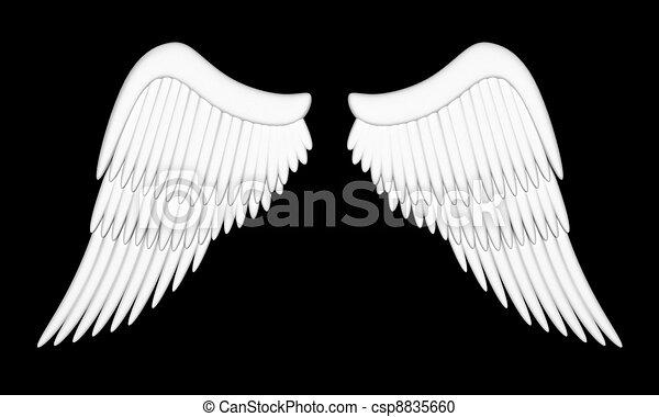 Stock de Ilustration de Ángel, alas - Ilustración, alas, Ángel ...