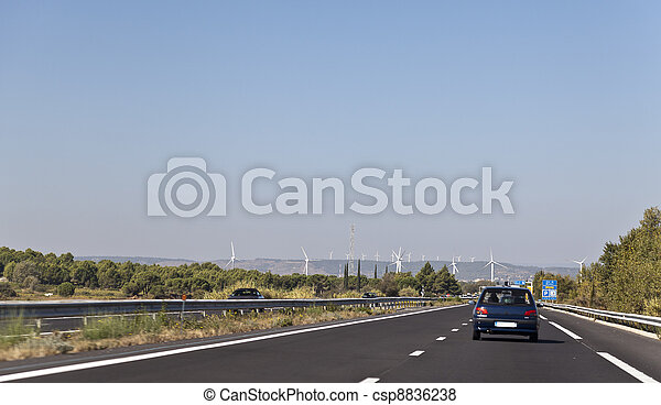 France wind power generation  - csp8836238